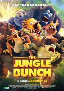 Out & About With Kids – Win One of 2 Family Passes (2 Adults and 2 Kids) to See The New Family Movie The Jungle Bunch