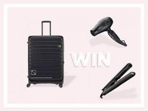 Oz Hair & Beauty – Win a Lojel Hard Case (prize valued at $1,000)