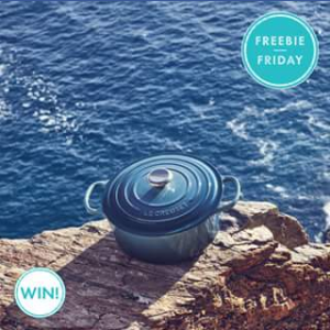 Pacific Fair Shopping Centre – Win 1 of 5 Le Creuset Gift Packs of a Mini Casserole Dish and Cookbook (prize valued at $100)