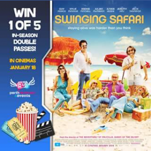 Perth Festivals & Events – Win 1 of 5 In-Season Double Passes to See Swinging Safari
