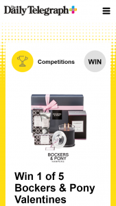 Plusrewards – Win a Valentines Hamper Every Day for 5 Days (prize valued at $495)