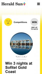 Plusrewards – Win 3 Nights at Sofitel Gold Coast Broadbeach (prize valued at $2,375)