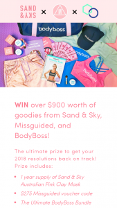 Sand and Sky – Win a Sand & Sky Prize Pack