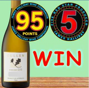 Skye Cellars South Australia FB – Win a Bottle of Cullen Chardonnay 2004 Valued $65.00. (prize valued at $65)