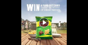 Smith's Chips – Win a $500 Gift Card Or 1 of 5 Aus Day Party Kits Worth Over $350 Simply Tell Us Your Best Tip for a Great Australia Day Party In 25 Word Or Less