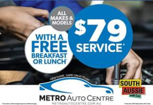 South Aussie with Cosi – Win One of $79 Car Service Vouchers