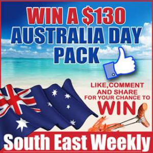 South East Weekly Magazine – Win a $130 Australia Day Pack (prize valued at $130)
