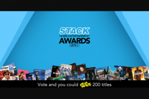 Stack Magazine – Win All 200 Nominated Movies