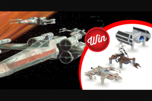 Stack Magazine – Win an X-Wing Tie Fighter Or Speeder Bike Starwars Battle Drone