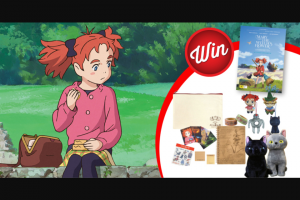 Stack Magazine – Win 1/5 Mary and The Witch's Flower Prize Packs