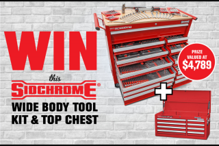 Street Machine – Win a Sidchrome Wide Body Tool Kit & Top Chest (prize valued at $4,789)