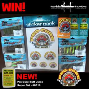 Tackle Tactics – Win a Pack Thanks to Pro-Cure Australia for You and a Mate