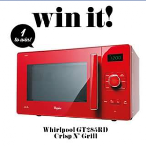 Taste – Win a Whirlpool Crisp N Grill Microwave Oven (prize valued at $299)