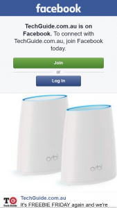 TechGuide – Win The Netgear Orbi Rbk40 Wi-Fi System Which Can Give You Fast and Consistent Wireless Coverage Across Your Entire Home