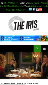 The Iris – Win a DVD Prize Pack That Includes The Dinner Starring Richard Gere and Steve Coogan