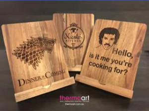 Thermoart – Win Either a Dinner Is Coming Or Lionel Ritchie Recipe Stand