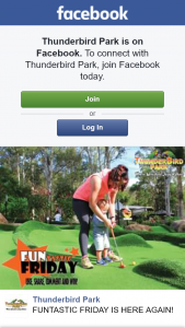 Thunderbird Park – Win a Double Pass for Adventure Mini Golf at Thunderbird Park