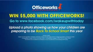 Today show-Nine network – Win $5000 to Put Towards Sending Your Kids Back to School With a Spring In Their Step