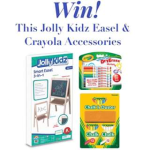 Toyworld Canberra – Win a Jolly Kidz 3in1 Easel & Crayola Accessories Must Collect