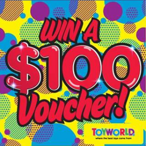 Toyworld Canberra – Win a $100 Toyworld Canberra Voucher