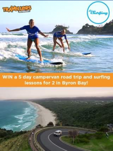 Travellers Autobarn – Win a 5-day Free Road Trip In a Campervan