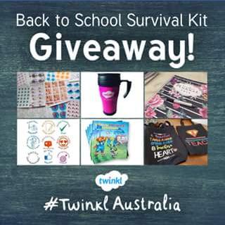 Twinkl Australia – Win a Back to School Surprise