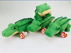 Ty beanie boo collectors – Win a Set of Four Spike The Green Alligator Beanies (prize valued at $80)