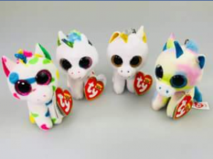 Ty beanie boo collectors – Win Four Unicorn Clips