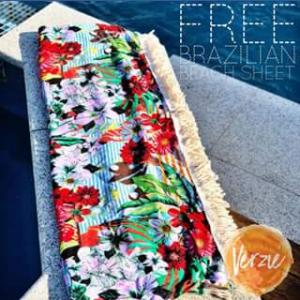 Verzie – Win this Stunning Brazilian Beach Sheet