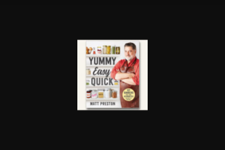 VMC – Win 1 of 5 Copies of Yummy Easy Quick By Matt Preston (prize valued at $199.95)