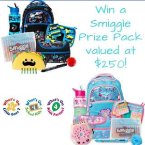What's on 4 Australia – Win 1 of 2 Smiggle Back to School Prize Packs Valued at $250 Each (prize valued at $250)