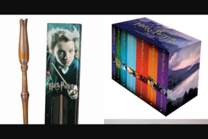 Win a Harry Potter Box Set