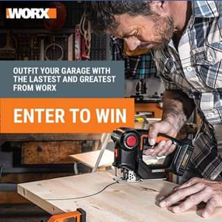 Worx Australia – Win 3 Worx Diy Tools By Commenting a Photo of Where You Diy at Home and By Liking The Worx Tools Australia Facebook Page