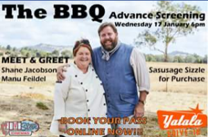 Yatala 3 drive-in theatre – Win 1 of 5 Car Passes to Our Advance Screenings of The Bbq