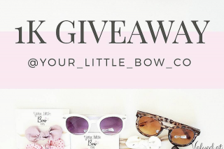 Your Little Bow Co – Win Sunglasses & Bows (prize valued at $100)