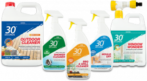 30 Seconds – Win a Summer Clean-up pack valued at $100