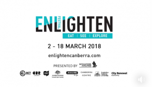 ActewAGL – Switch on Enlighten Festival 2018 – Win a prize packge for a family of 4