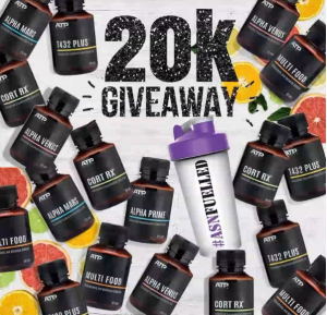 Australian Sports Nutrition – Win a share of $20,000 Giveaway