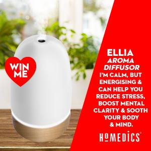 BSR Australia – Betta – Win a Homedics ELLIA Ultrasonic aroma diffuser valued at over $129