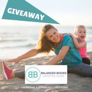 Balanced Bodies Lifestyle Clinic – Win 1 of 3 major prize packs valued at up to $1,200