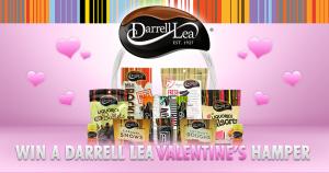 Darrell Lea – Win a Darrell Lea hamper for Valentine's Day