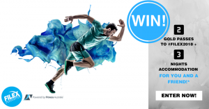Fitness Australia – Win 2 Business Gold Passes to FILEX 2018 in Sydney PLUS 3-night accommodation