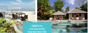 GTI Tourism – Wake Up in Vanuatu Digital – Win a trip for 2 to Vanuatu valued at up to AU$5,000