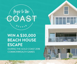 Gold Coast Tourism – Win a luxury travel and accommodation prize pack valued at up to $33,278