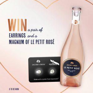 IGA Liquor – Win a pair of Earrings & a Magnum of Le Petit Rose