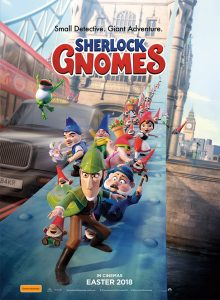 Network Ten – The Living Room – Sherlock Gnomes – Win a Family Trip of 4 to Los Angeles valued at up to $50,000