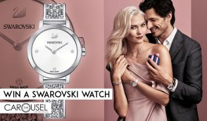The Carousel – Win a superb Cosmic Rock Watch by Swarovski valued at $449