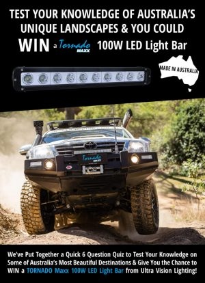 Ultra Vision Lighting – Win a Tornado Maxx 100W LED Lightbar from Ultra Vision