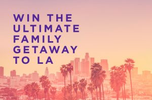 Velocity Frequent Flyer – Win a family trip of 2 adults and up to 4 children to Los Angeles