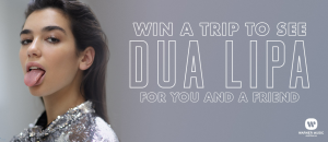 Warner Music Australia – Dua Lipa The Self-Titled Tour 2018 – Win a prize package for 2 valued at $2,245 (flights included)